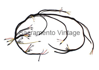 sacramento vintage ford rh vintageford com Ford Wiring Harness Connectors Painless Wiring