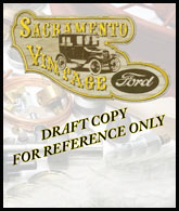 sacramento vintage ford model t parts catalog in progress